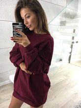 Load image into Gallery viewer, Women Fashion Style Casual Round Neck Sweatshirts-BelleChloe-o1o.store
