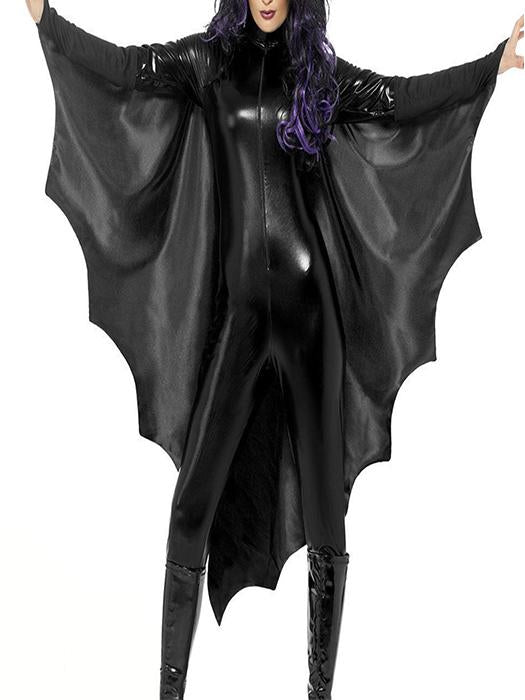 Black Vampire Bat Wings Fancy Dress Costume-BelleChloe-o1o.store