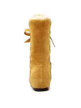 Load image into Gallery viewer, Chic Frenal Fur Hidden-Heel Women'S Snow Boots-BelleChloe-o1o.store
