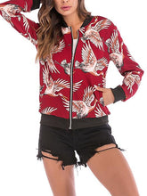 Load image into Gallery viewer, Casual Zipper Basic Bomber Jacket-BelleChloe-o1o.store