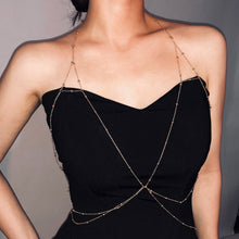 Load image into Gallery viewer, Personality Multipurpose Copper Bead Body Chain Clothes Chain-o1o.store-o1o.store