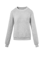 Load image into Gallery viewer, Faux Shearling Sweatshirt-BelleChloe-o1o.store