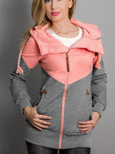 Load image into Gallery viewer, Contrast Color Hooded Sweatshirts-BelleChloe-o1o.store