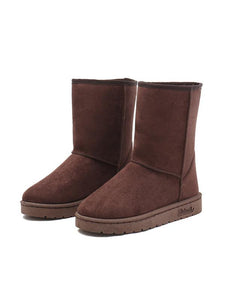 Large Size Classic Couple Waterproof High Cotton Boots-BelleChloe-o1o.store