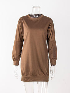 Women Fashion Style Casual Round Neck Sweatshirts-BelleChloe-o1o.store