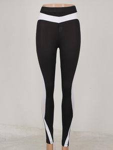 Color Matching Yoga Sports Tight Pants-BelleChloe-o1o.store