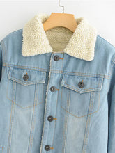 Load image into Gallery viewer, Thick Casual Denim Jacket-BelleChloe-o1o.store
