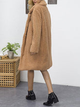 Load image into Gallery viewer, Fashion Winter Warm Thick Faux Fur Long Sleeve Coat-BelleChloe-o1o.store