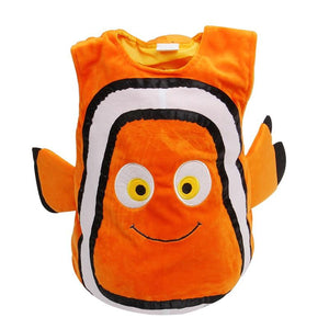 Adorable Child Clownfish Little Baby Fishy Cosplay Costume Age 2-7 Years-o1o.store-o1o.store