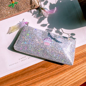 Unicorn Women Sequins Laser Cosmetic Bags