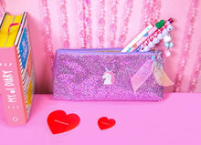 Load image into Gallery viewer, Unicorn Women Sequins Laser Cosmetic Bags