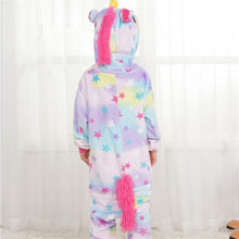 Load image into Gallery viewer, Unicorn Costume Fancy Soft Animal Cosplay Overall Funny Carnival Star Jumpsuit-BelleChloe-o1o.store