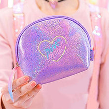 Load image into Gallery viewer, Women sequins zipper cosmetic bag