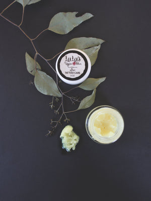 After Care Tattoo Balm with 100mg CBD - Lulu's Vegan Skin