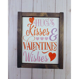 Hugs n Kisses Valentine Wishes