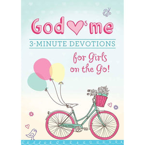 God Hearts Me 3 - Minute Devotions For Girls on The go