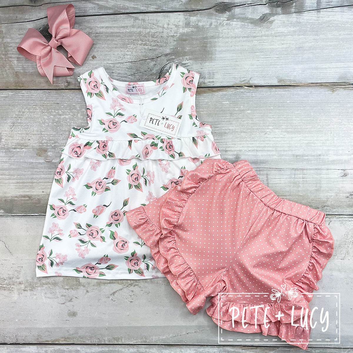 Morning Rose Short Set- KIDS