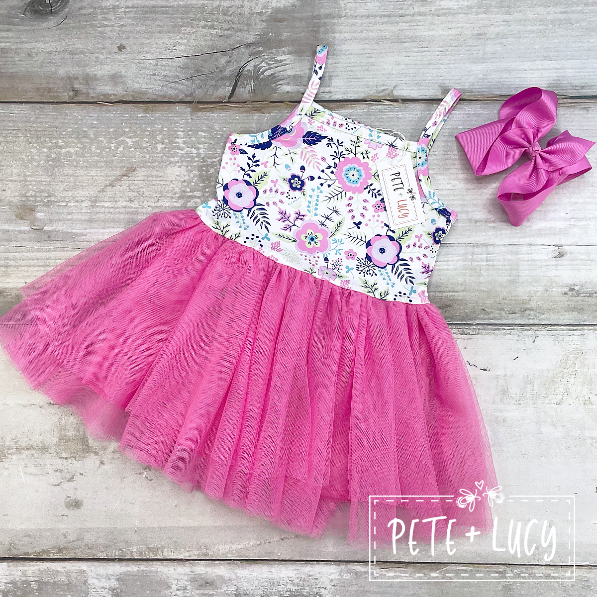 Sasha Tulle Dress-KIDS