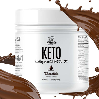 Keto Collagen with MCT Oil - Chocolate (12 Bottles)