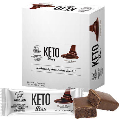 Keto Bars - Chocolate Dream (12 Keto Bars)