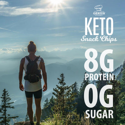 Keto Snack Chips - Spicy Nacho - Retail Display