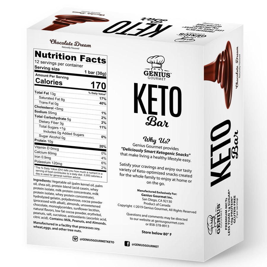 Keto Bars - Chocolate Dream