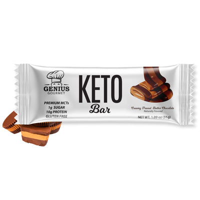 Keto Bars - Creamy Peanut Butter Chocolate