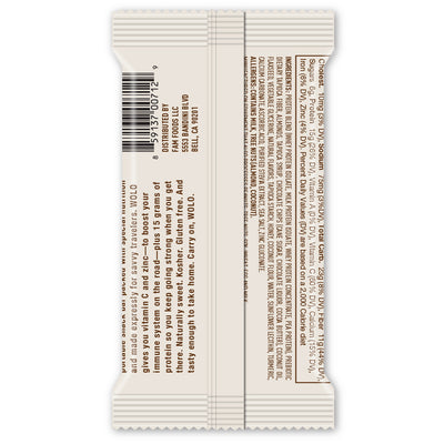 WOLO WanderBar™ S'Mores Protein Bar - Gluten Free & Soy Free (12 pack)