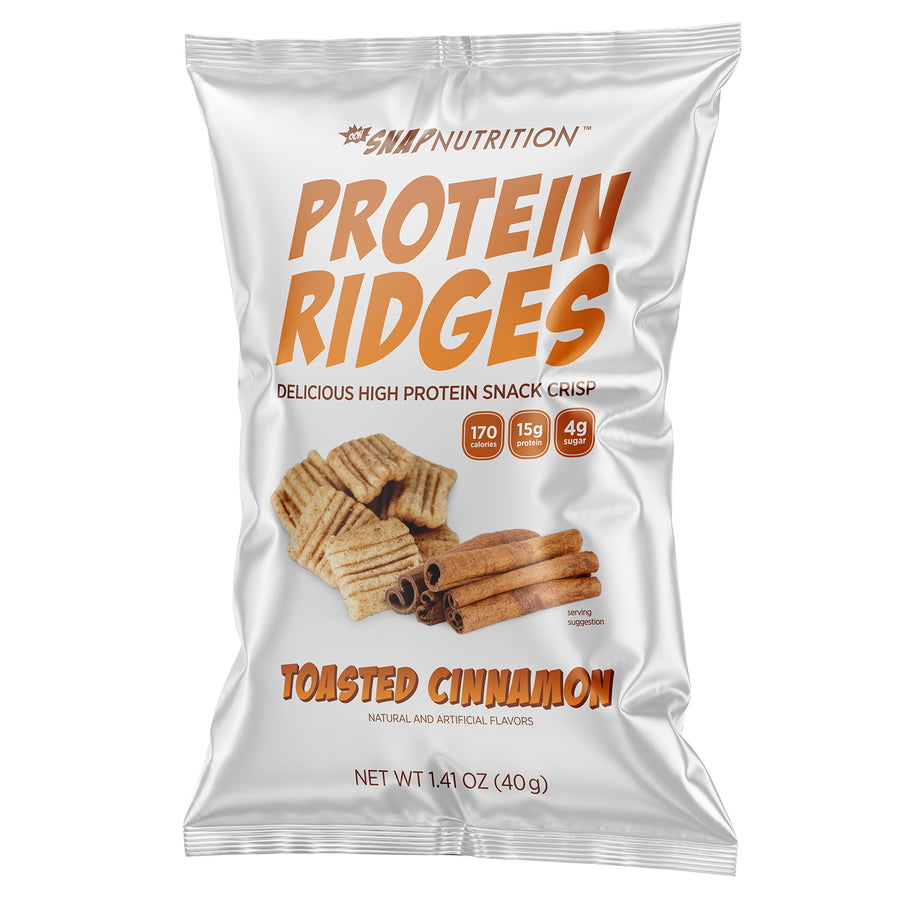 Protein Ridges - Toasted Cinnamon (15 Bags)