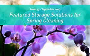 Featured Storage Solutions for Spring Cleaning