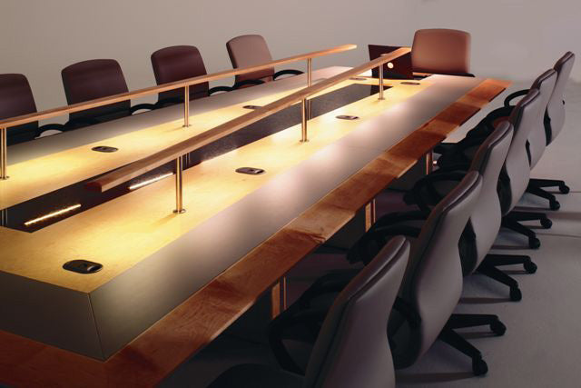 stunning meeting table