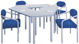 H3000 TRAPEZIUM TABLES
