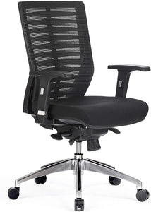 ZEBRA EXECUTIVE MESH BACK CHAIR - FREE BOXED SHIPPING SYD METRO