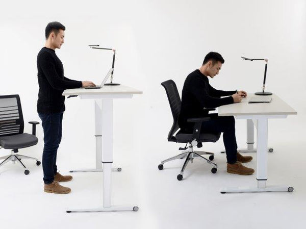 AIRO PNEUMATIC AIR LIFT HEIGHT ADJUSTABLE DESKS AND TABLES