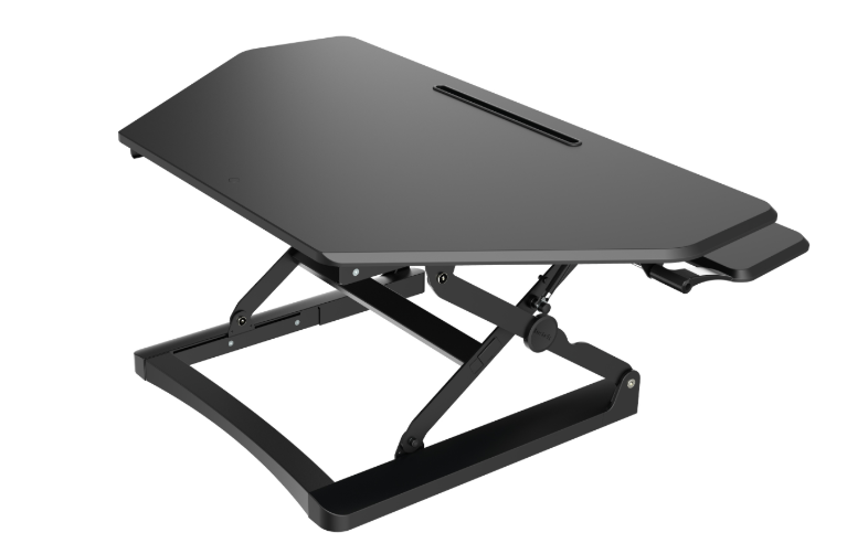ARISE CORNER DESKALATOR WITH FREE ANTI-FATIGUE MAT