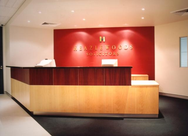 EQ6000 RECEPTION DESK