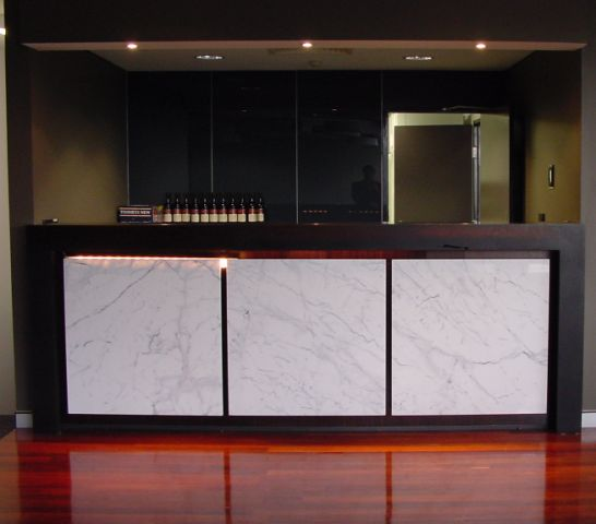 CUSTOM MADE RECEPTION DESKS 3 - 6 NEW DESIGNS & OUR CUSTOM DESIGN SERVICES