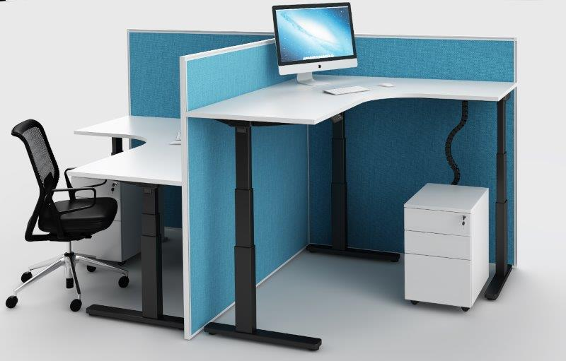 EVEREST ELECTRONIC HEIGHT ADJUSTABLE WORKSTATIONS AND DESKS