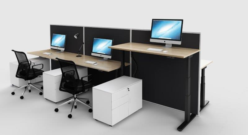 SCREENS FOR EVEREST ELECTRONIC HEIGHT ADJUSTABLE DESKS