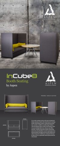 inCUBE8 BOOTH SEATING
