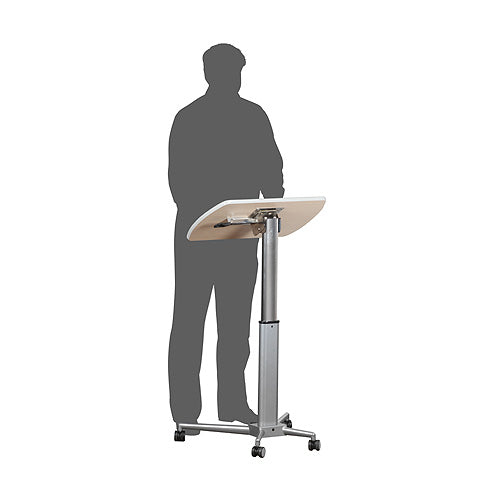 HEIGHT ADJUSTABLE LECTERN / EXPO TABLE