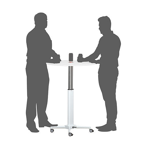 HEIGHT ADJUSTABLE MEETING / DRINKS TABLE