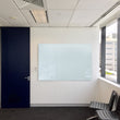 NEW CLARION MAGNETIC GLASSBOARDS WITH INVISIBLE MOUNTING