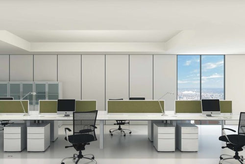 DIAMOND WORKSTATION SYSTEM FEATURING KLIP SCREENS