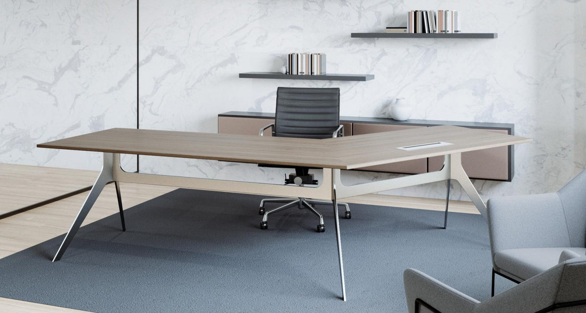 NOUVEAU EXECUTIVE 120 DESK - FREE DELIVERY & INSTALLATION GROUND FLOOR SYD METRO