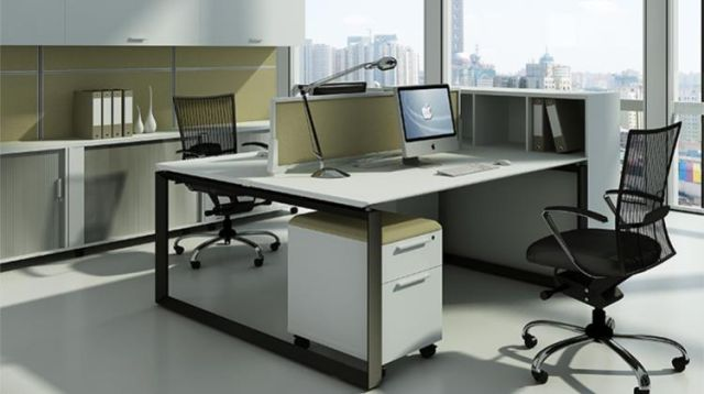 DIAMOND WORKSTATION SYSTEM IN BLACK