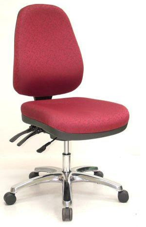 ECHO HEAVY DUTY HIGH BACK TYPIST CHAIR