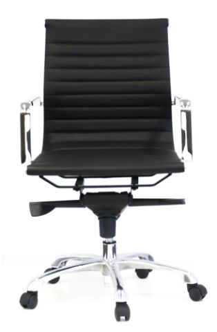 FORTE HB LEATHER CHAIR - FREE BOXED SHIPPING SYD METRO