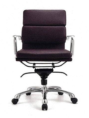 FORTE THICK PAD LEATHER BOARDROOM CHAIR MB - FREE BOXED SHIPPING SYD METRO