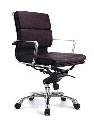 FORTE THICK PAD LEATHER BOARDROOM CHAIR HB - FREE BOXED SHIPPING SYD METRO